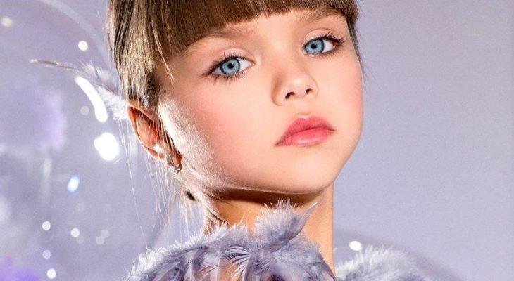 Самая красивая девочка мира Анастасия Князева хочет стать кондитером или ветеринаром